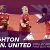 LINK LIVE STREAMING Brighton vs Manchester United