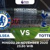 LINK LIVE STREAMING DERBY LONDON LIGA INGGRIS MOLA TV Chelsea vs Tottenham Hotspurs