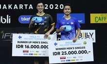 Sempat Terkendala Mimisan, Anthony  Ginting Juarai PBSI Home Tournament
