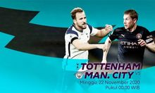 Link Streaming Tottenham vs Man City Malam Ini: Prediksi dan Head to Head