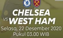 Tonton Online Liga Inggris Chelsea vs West Ham United di MolaTV, Klik Link Live Streaming Ini