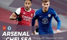Sedang Berlangsung Live Streaming Derby London Arsenal vs Chelsea, Buruan Klik Link Disini