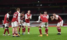 Arsenal Vs Newcastel 3-0, Aubameyang Cetak 2 Gol