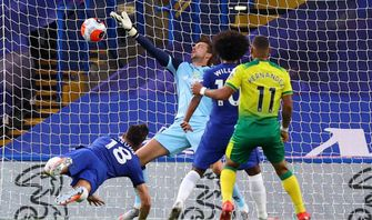 Chelsea vs Norwich City: Gol Giroud Amankan The Blues di Peringakt Ketiga