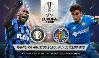 Babak 16 Besar Europa League, Inter Milan vs Getafe