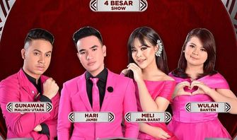 Jadwal Acara TV Indosiar Hari Ini 24 September 2020, LIGA DANGDUT INDONESIA 2020: TOP 4 RESULT SHOW
