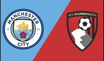 Nonton Live Streaming Manchester City vs Bournemouth: Skor 1-1