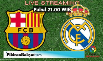 Barcelona Vs Real Madrid, El Clasico Liga Spanyol Malam Ini Link Live Streaming di beIN Sports