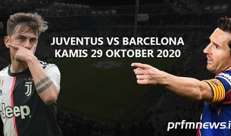 Juventus vs Barcelona: Reuni Ronaldo vs Messi Tertunda