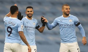 Man City Vs Burnley, Ketajaman Mahrez Angkat Kembali Karisma City