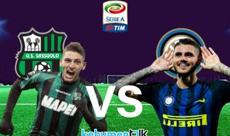 Link Live Streaming Sassuolo vs Inter Milan, Kick-off 21.00 WIB