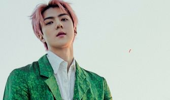 Sehun EXO No. 2 TCC Asia Top 100 Most Handsome Faces In The Asia Pacific Of 2020