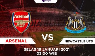 Link Live Streaming Arsenal vs Newcastle, Tensi Panas Perebutan Posisi