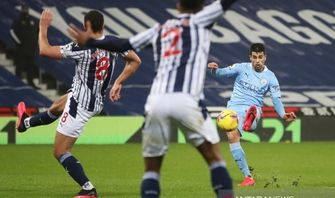 Manchester City Libas West Bromwich 5-0