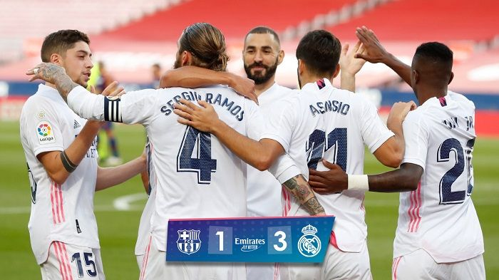 Full Time Real Madrid Tekuk Barcelona 3 1 Seputar Tangsel
