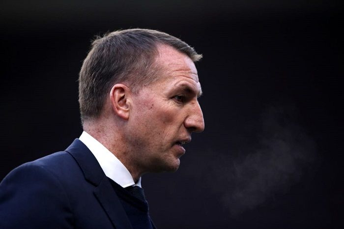 Manajer Leicester City Brendan Rodgers.