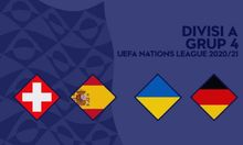 Jadwal UEFA Nations League 2020 Spanyol vs Swiss dan Ukraina vs Jerman Live Streaming Malam Ini