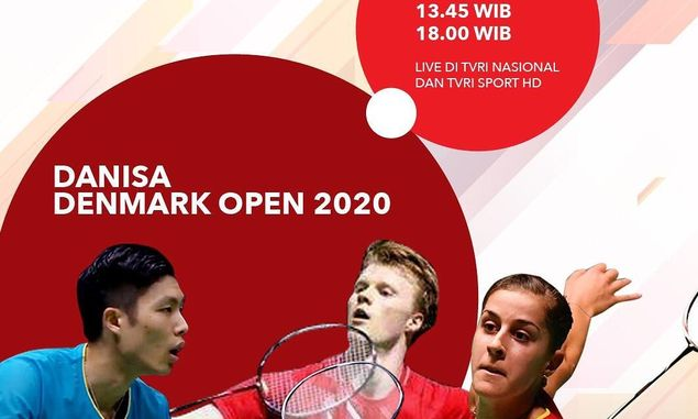 Link Live Streaming: BWF World Tour Super 750 Denmark Open 2020