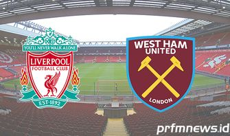 Link Live Streaming Liverpool Vs West Ham United Minggu, 1 November 2020
